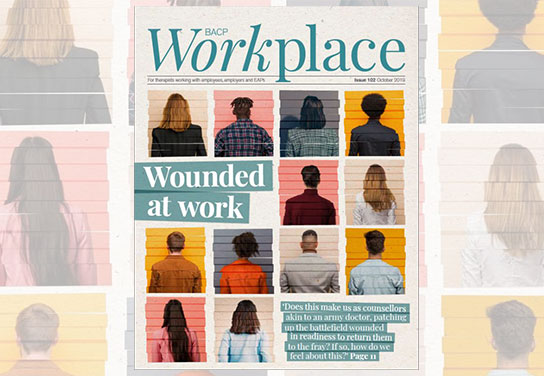 Breathe features in BACP workplace quarterly journal